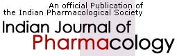 Indian Journal of Pharmacology